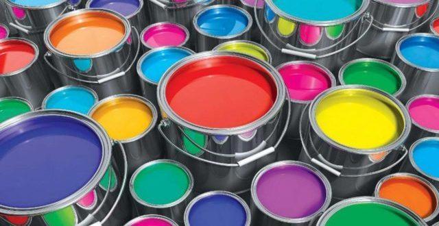 разнообразие оттенков алкидной краски