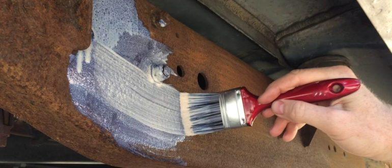 покраска металла акриловой краской