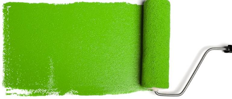 широкий валик для покраски