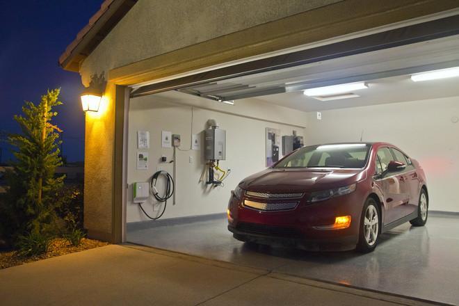Подбор краски для стен гаража