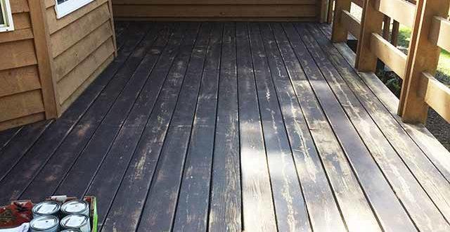 Как покрасить деревянный пол на неотапливаемой даче