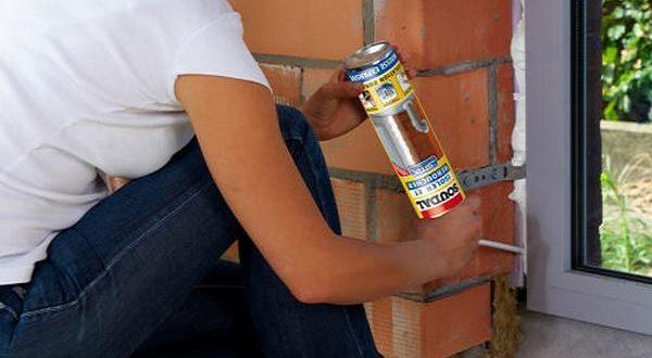 Чем покрасить монтажную пену