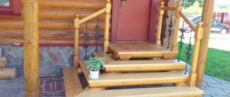 Как покрасить деревянное крыльцо, чтобы дольше держалось