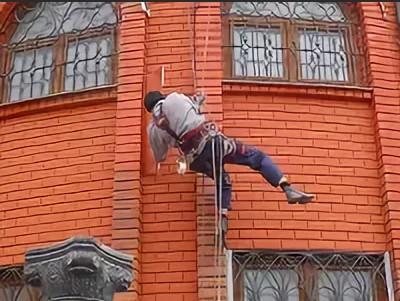Как покрасить кирпичный фасад