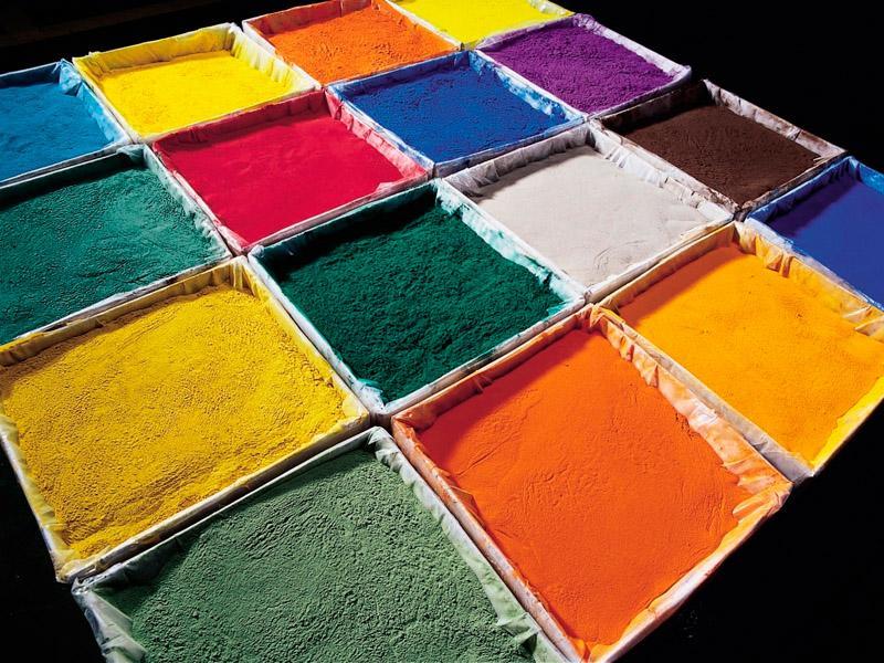 Порошковые пигменты для красок