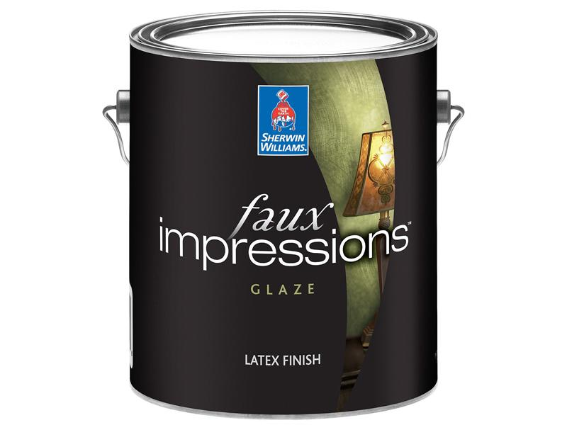 Sherwin Williams Faux Impressions Latex Glaze