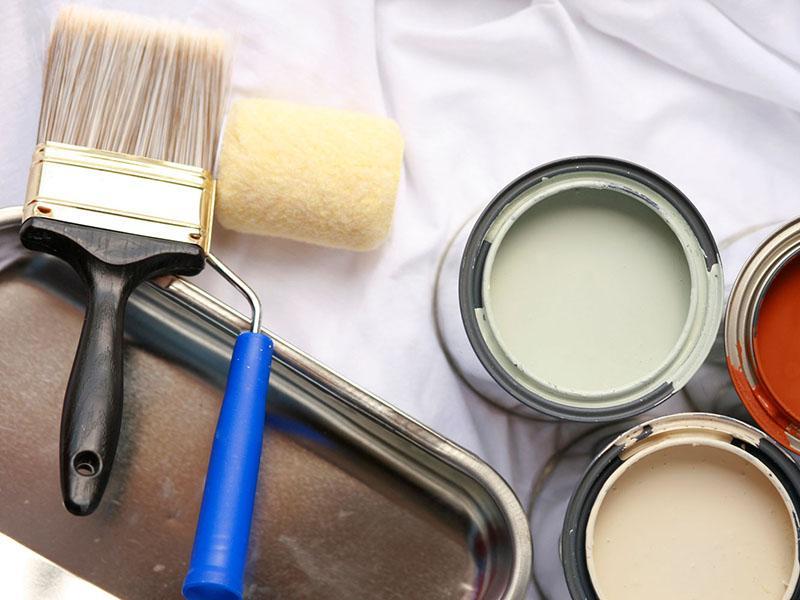 Кисти краски ремонт
