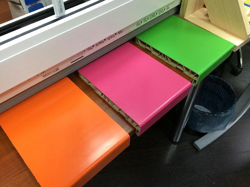 Краска для пластиковых подоконников