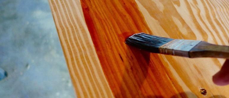 Краска с имитацией дерева
