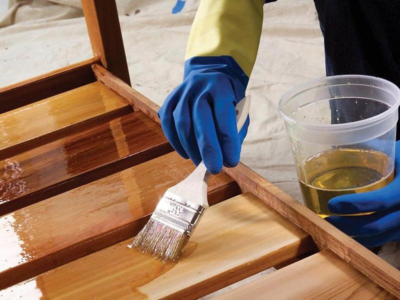 Лакирование древесины