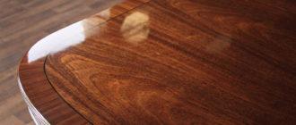Лакированная древесина