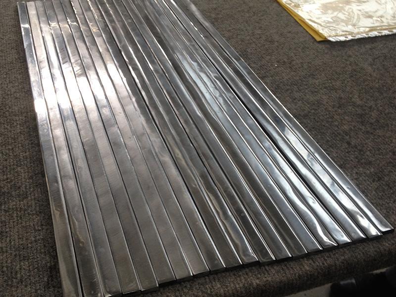 Лакированная нержавеющая сталь