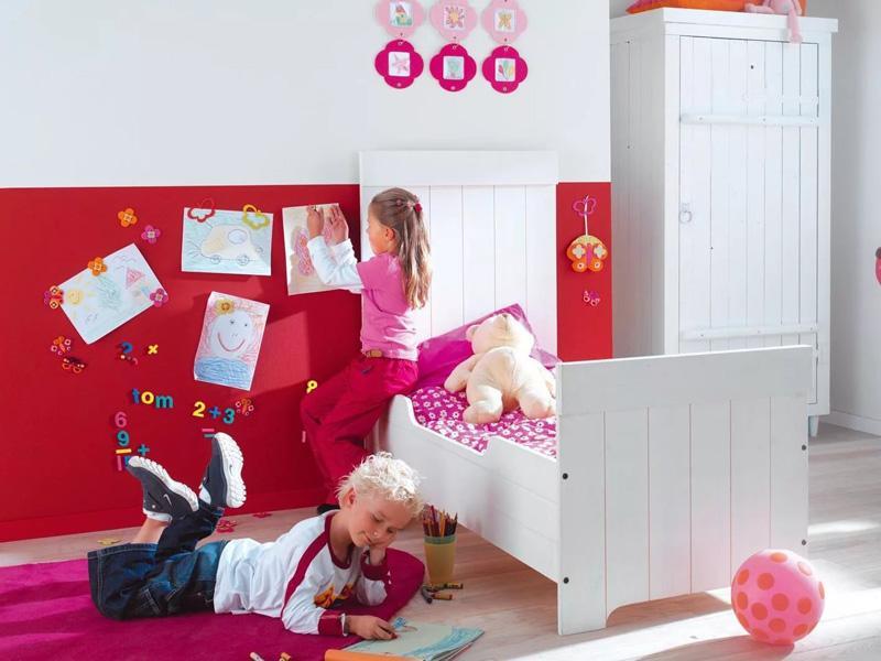 Магнитная краска в интерьере детской
