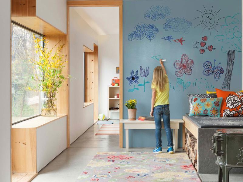 Маркерная стена для рисования
