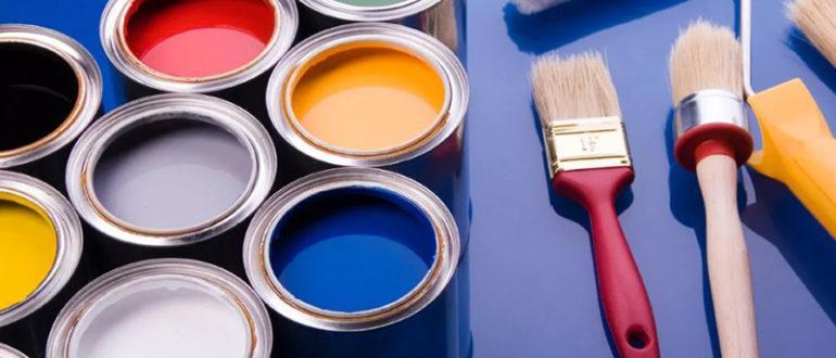 Масляные краски строительные