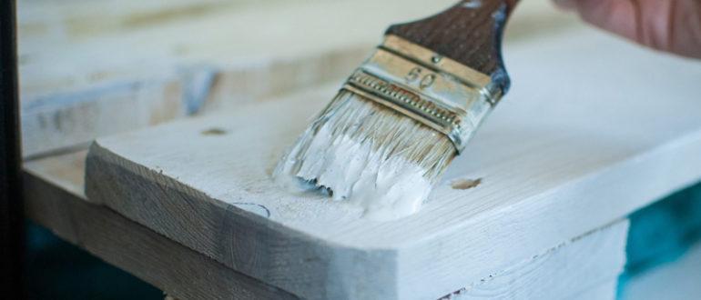 Меловая краска для деревянной мебели