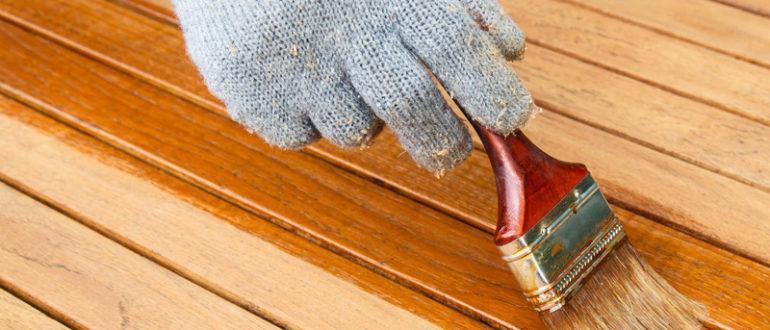 Обработка древесины антисептиками