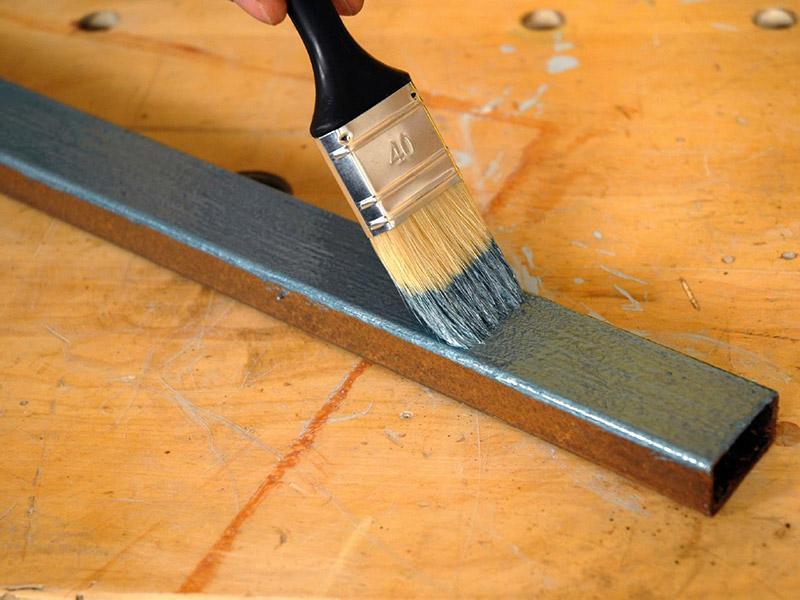 Окраска металлических поверхностей