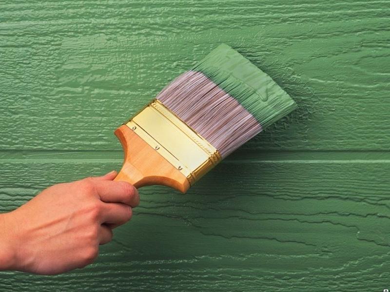 Покраска краской стен