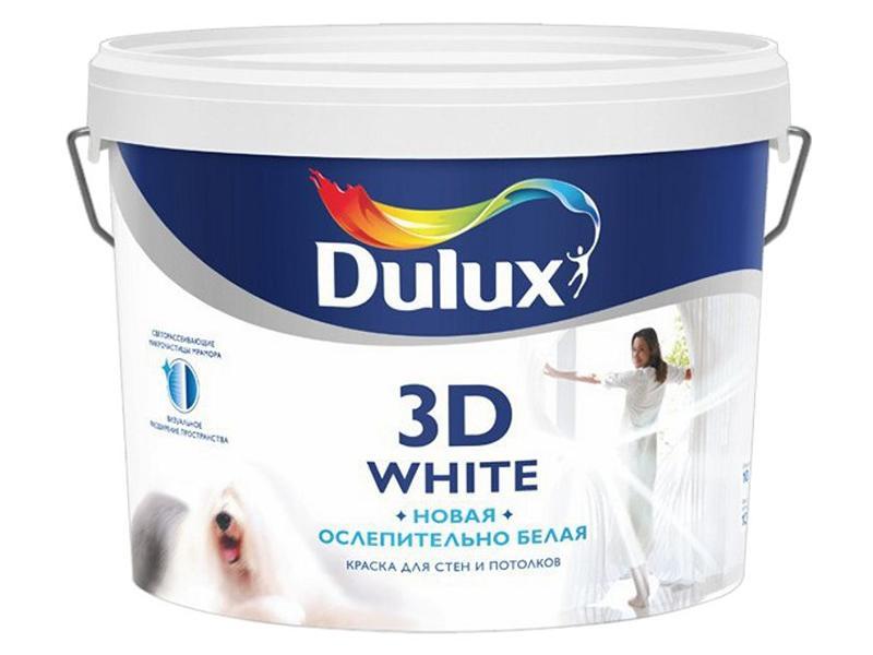 Dulux 3D White для потолка и стен