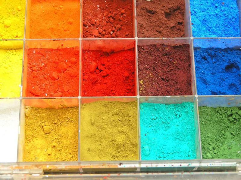 Минеральные пигменты для красок