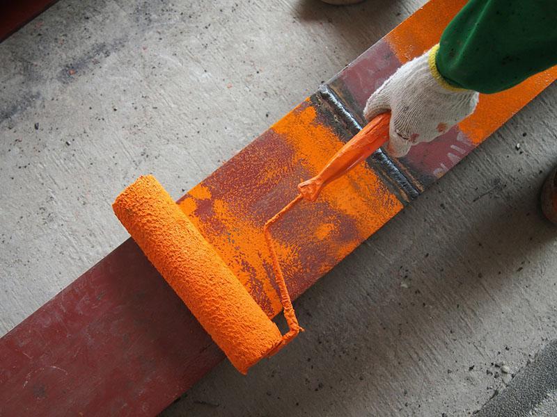 Покраска металлической поверхности