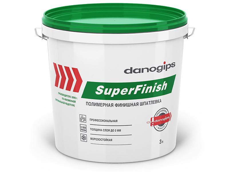 Шпатлевка Danogips SuperFinish