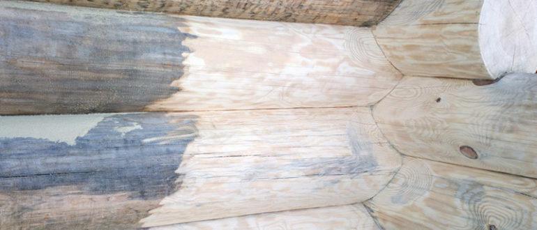 Выбеливание древесины