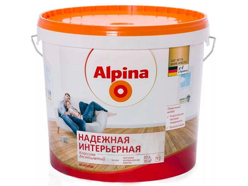 Alpina Надежная Интерьерная (Mattlatex)