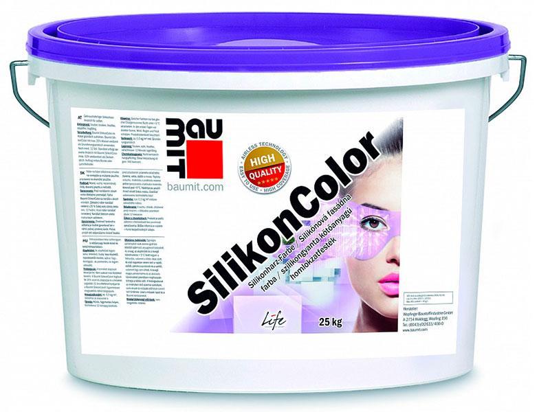 Baumit Silikon Color силиконовая краска