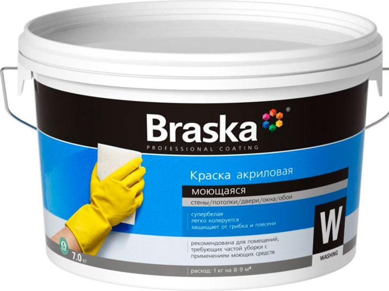 Краска акриловая Braska