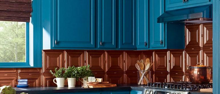 Перекраска фасадов кухни