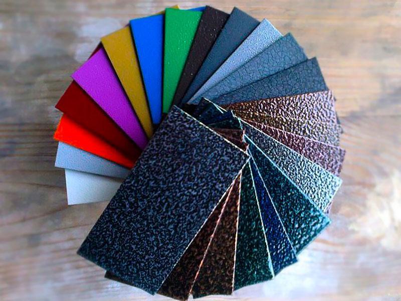 Порошковые краски для металла