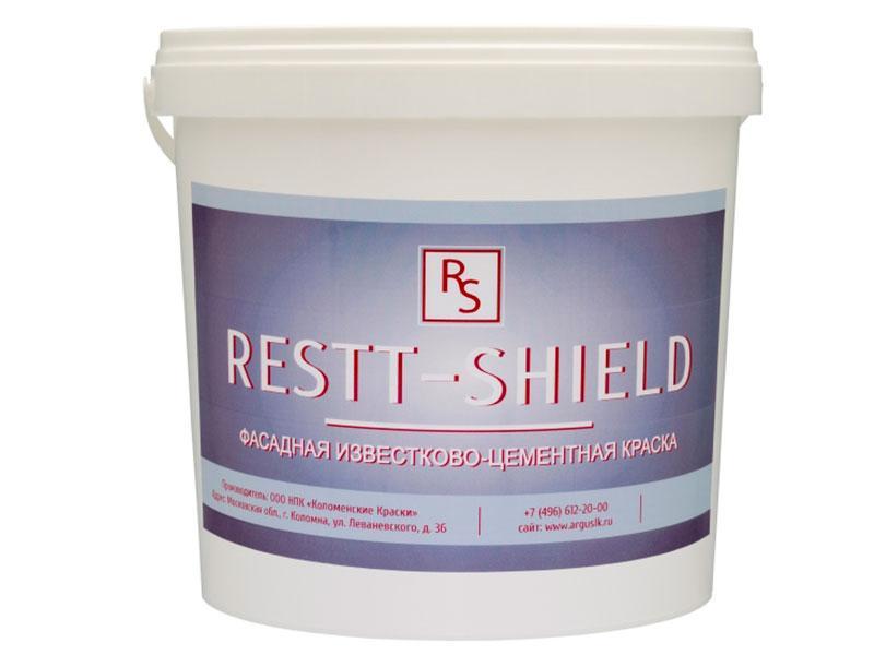 Фасадная известково-цементная краска Restt - Shield
