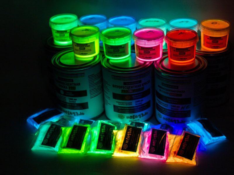 Фосфорицирующая краска