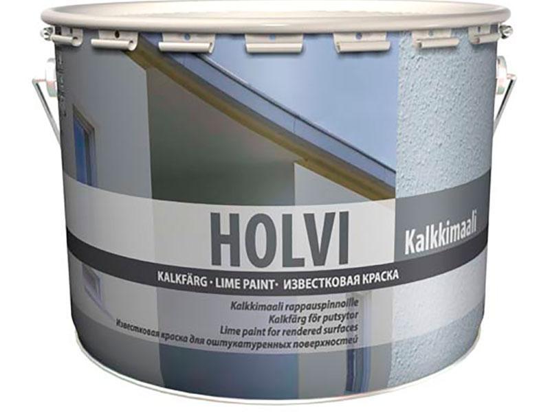HOLVI известковая краска для оштукатуренных поверхностей