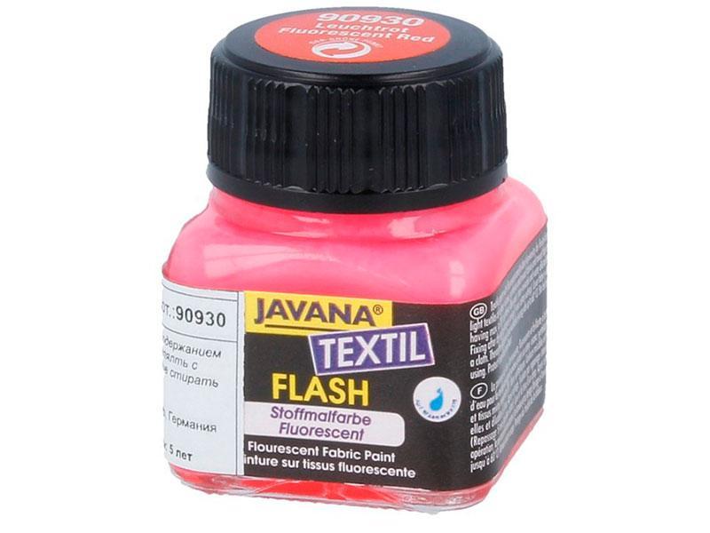 Краска по ткани флуоресцентная Javana