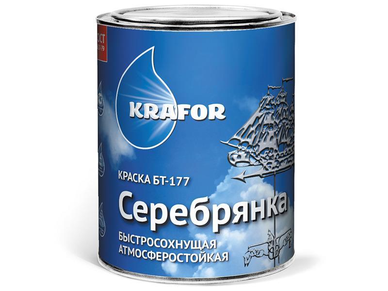 Краска Серебрянка БТ-177 КРАФОР