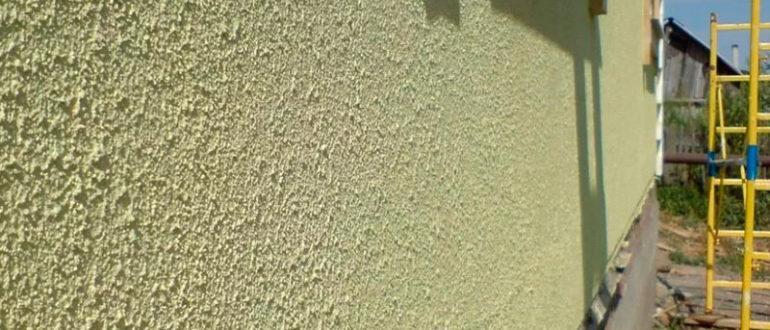 Штукатурная краска для фасада