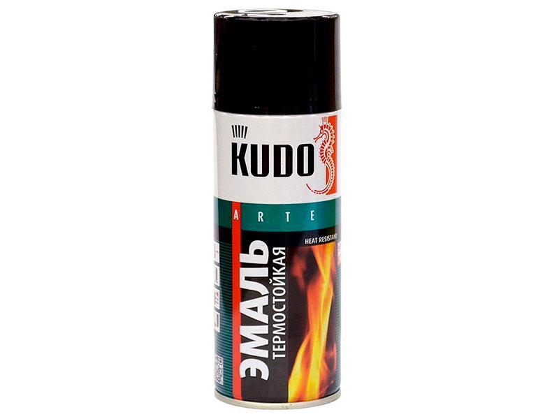 Термостойкая краска-эмаль Kudo